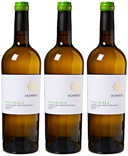 Pietraia Castel Del Monte Bianco Dop - 3 Bottiglie da 750 ml