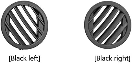 Nrpfell Panel de Instrumentos de Coche Aire Acondicionado Salida de Aire Peque?A Salida de Aire Rejilla Redonda para Mercedes X204 GLK Nivel GLK300 Derecho