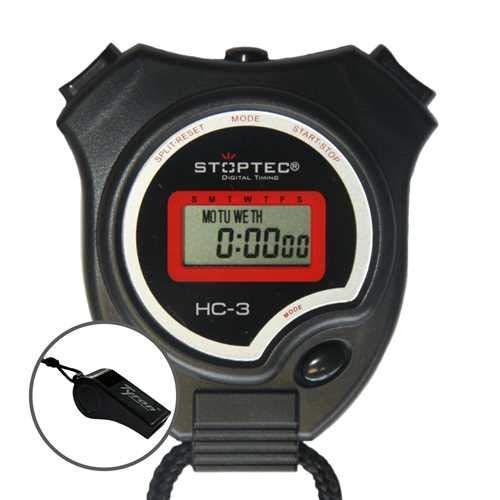 Stoptec HC-3 - Cronómetro con Silbato
