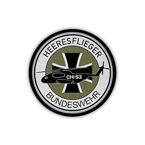 Copytec Heeresflieger B&eswehr CH53 Bückeburg Wappen Patch Aufnäher #18100