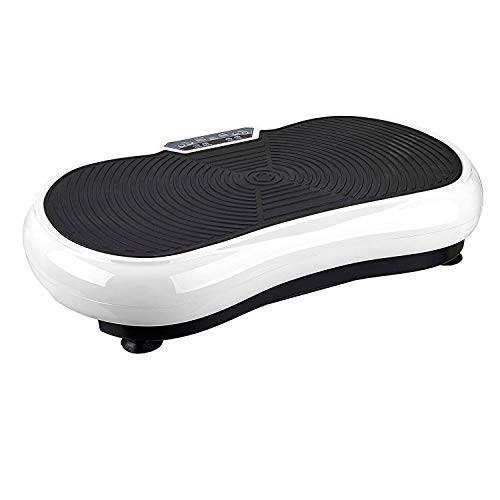 IRIS Fitness Vibration Platform Workout Machine   Exercise Equipment for Home   Vibration Plate   Balance Your Weight Workout Equipment Includes, Remote Control & Balance Straps Included