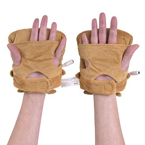 Smoko Toast Hand USB Heated Typing Gloves - Butta