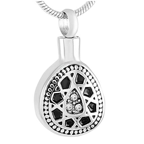 Wxcvz Collar De Urna De Cremación Collar De Urna De Cremaci