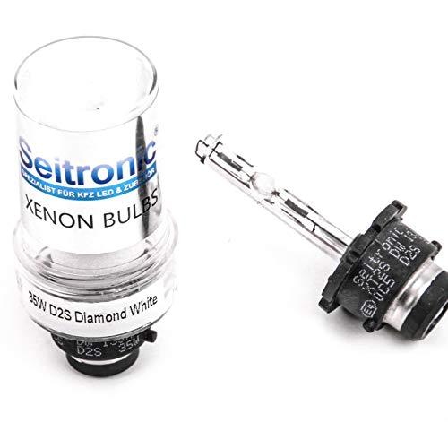 Seitronic D2S-8000K 2X D2S Xenon 8000 K, D2S Xenon/Poires/lampe/Bulb, graveur de rechange, Bleu ciel 8000K