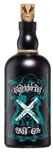 Blackforest Wild Gin 42% Vol. (1 x 0.5 l) - Brennerei Wild aus Gengenbach - Schwarzwald Premium Gin - Premium Dry Gin aus 65 verschiedenen Botanicals
