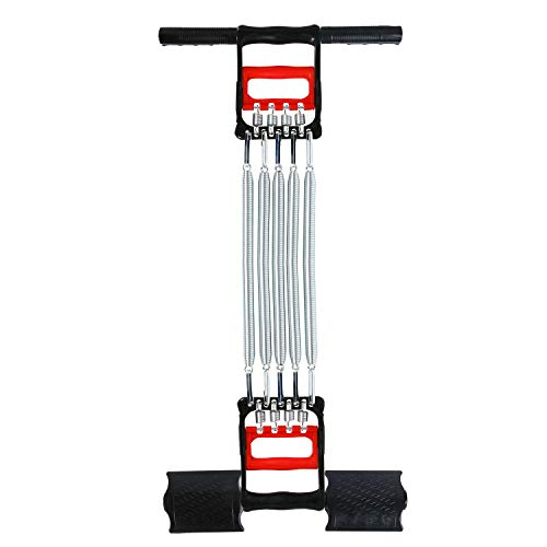 3 in 1 Spring Chest Expander Hand Gripper Pull-Up Bars Home Fitness Equipment...