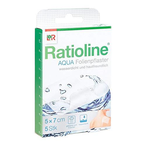 RATIOLINE aqua Duschpflaster 5x7 cm 5 St