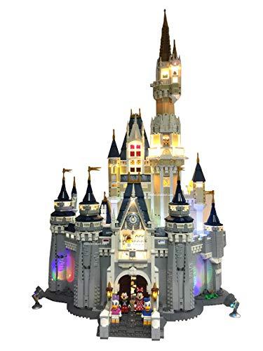 Deluxe LED Lighting Kit Fits Your Lego Disney Castle 71040 -...