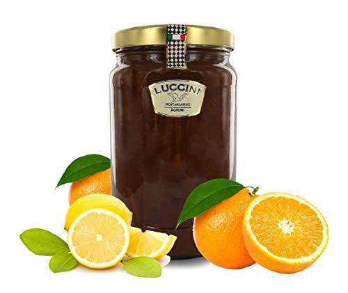Luccini Mostarda Handwerk Zitrusfrüchte 2 kg Mostarde - Früchte höchster Qualität