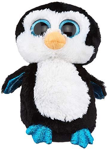 Ty Beanie Boos 36904 Waddles - Pingüino de peluche, 22 cm [importado de Alemania] , color/modelo surtido