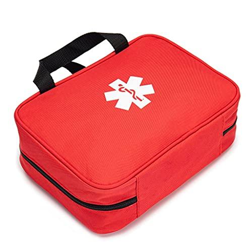 XLLQYY Bolsa de primeros auxilios vacía bolsa de rescate de viaje bolsa de emergencia para el coche, hogar, oficina, cocina, deportes al aire libre (A)