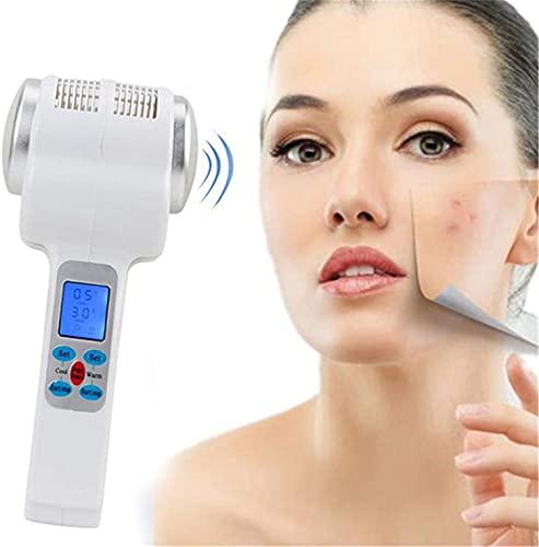 Martillo Frío Y Caliente De Mano Multifuncional,Masajeador De Estiramiento Facial Crioterapia Cuidado De Piel Los Poros Y Equipo Belleza Corporal Para Salón
