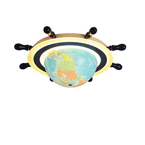 Kinderzimmer Augenschutz Deckenlampe Führte Schlafzimmer Deckenlampe Globus Steuermann Kindergarten Cartoon Lampe Deckenleuchte