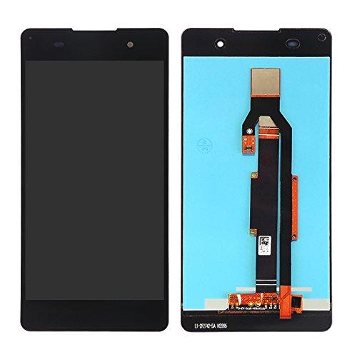Senden Nach-Test IPartsBuy for Sony Xperia E5 LCD-Bildschirm + Touchscreen-Zubehör (Color : Black)