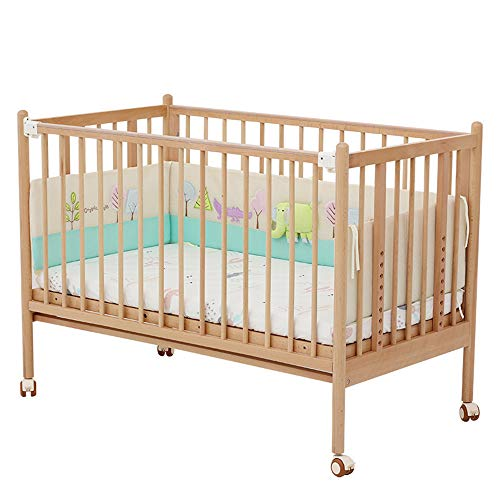 Best Deals! Xinrangxin Multifunctional Adjustable Crib, Which Can Be Easily Converted into A Toddler Bed Or A High and Low Bed, A Sturdy Crib with Classic Breathable Mesh, Adjustable in 6 Positions