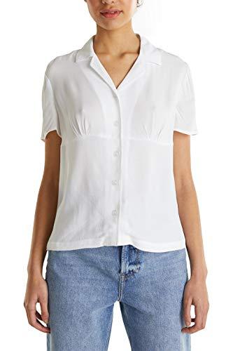 edc by Esprit 040cc1f316 Blusas, 100/White, S para Mujer