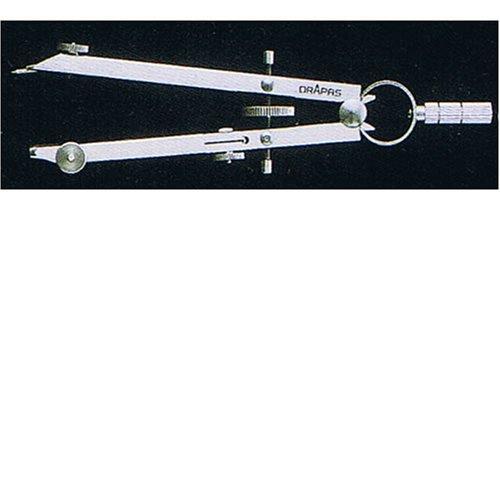 ドラパス 独式差替ロング中型スプリングコンパス 鉛筆 02053