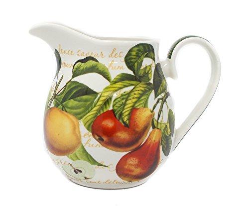 Carafe en porcelaine Motif fruits