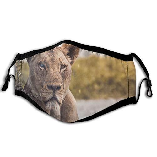 N/A masker leeuw zacht en comfortabel, winddicht en stofdicht, geschikt voor dagelijks gebruik