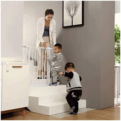 LNDDP Valla telescópica para Puerta de Seguridad para niños Puertas para escaleras para bebés Barandilla de Aislamiento para Mascotas