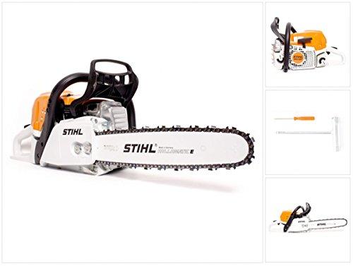 Stihl MS 391 Kettensäge/Motorsäge 4,5PS 37 cm Schwert + 1,6mm RM Sägekette (11400113034)