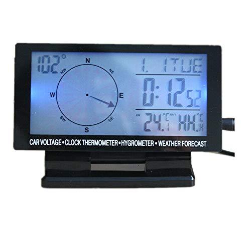 Reloj digital con calendario perpetuo LCD universal digital,