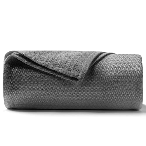 DANGTOP Cooling Blankets, Queen Size 100% Bamboo Blanket for All-Season, Cooling Blanket Absorbs...