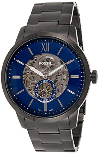 FOSSIL Reloj Analógico para Hombre de Automático con Correa en Acero Inoxidable ME3182