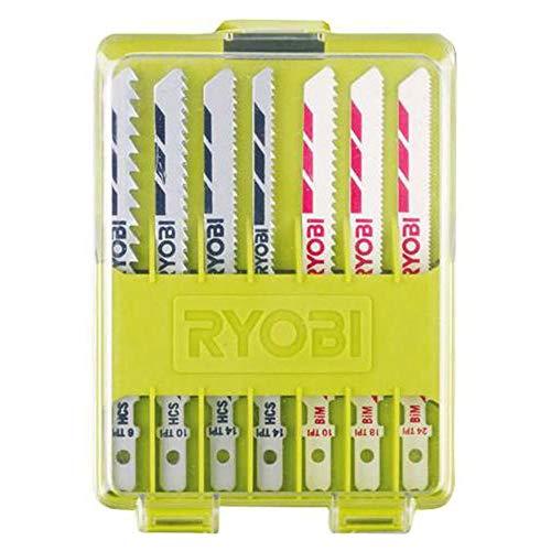 Ryobi 5132002702 10-teiliges Stichsägeblattset