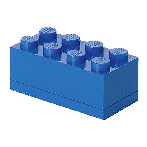 LEGO - Mini caja de almuerzo 8, color azul (Room Copenhagen