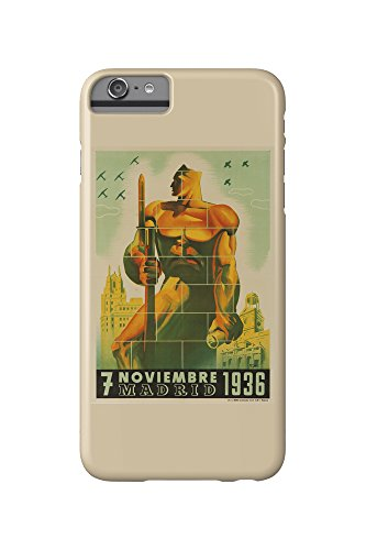 Madrid - 7 Noviembre 1936 Vintage Poster (Artist: Tomas) Spain c. 1937...
