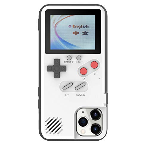 Handheld Color Gameboy Case for iPhone 11 Pro Max, 36 Retro Games Playable Phone Case, Cool 3D Case for iPhone 11 Pro Max