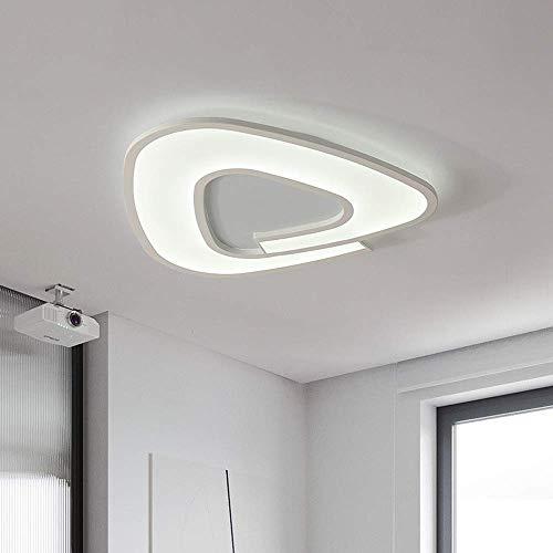 Moderne led-plafondlamp woonkamer dimbaar met afstandsbediening plafondlamp rond design wandlamp slaapkamer binnenverlichting decoratie wit voor kinderen