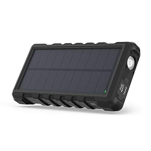 Solar Phone Charger RAVPower 25000mAh Outdoor...