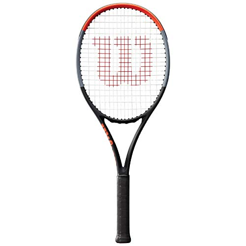 """Wilson Clash 98 Tennis Racquet (4 1/8"""" Grip) - Small Head Size for Intermediate to Advanced Players - Great Racquet for Power and Control"""