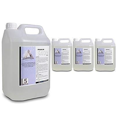 Dynamic Premium Snow/Foam Machine Fluid (4x5L) Liquid Solution Disco Party