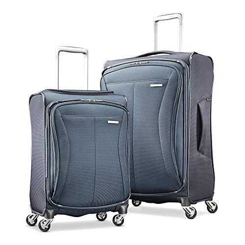 Samsonite Flex-Lite 2-Piece Luggage Spinner Set Ash/Charcoal