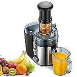 Centrifuga Frutta e Verdura, 800W Potente Estrattore di Succo Freddo con...
