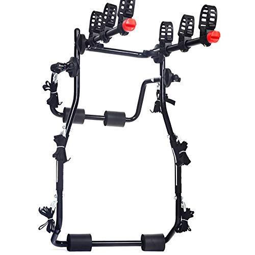 Portabicicletas,Enganche Trasero Plegable para AutomóVil Soporte para Bicicletas de Acero de Alto...