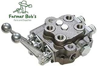 Cross Double Spool Both 3-Position 4-Way Open Center Control Valve USA Made Farmer Bob's Parts SBA22