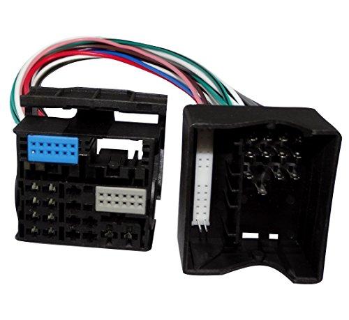 Aerzetix: Adapter Quadlock 40pin Buchse Quadlock 52pin Stecker für Systeme ohne MQB C40119