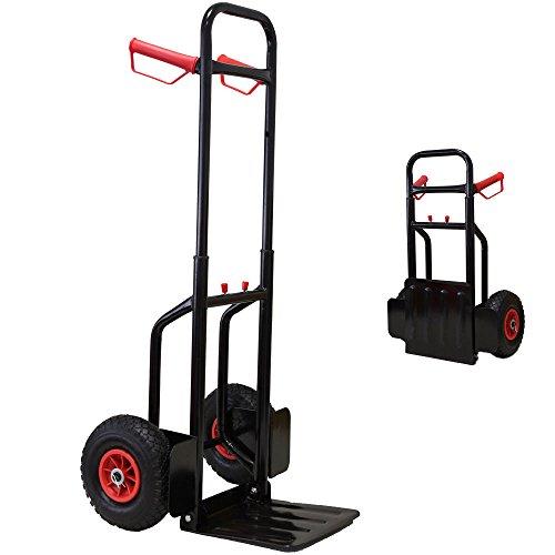 Grafner® Profi Sackkarre Transportkarre 200 kg faltbar thumbnail