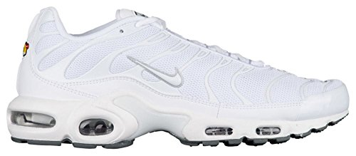 Nike Air max Plus - Laufschuhe, Herren, Farbe Weiß (White/White-Black-cool Grey), Größe 45 1/2