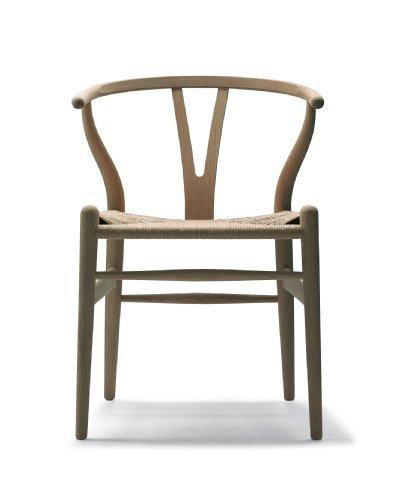 Carl Hansen - CH24 Y Wishbone Stuhl Eiche - Eiche geseift - Geflecht Natur - Hans J. Wegner - Design - Esszimmerstuhl - Küchenstuhl - Speisezimmerstuhl