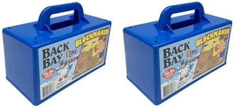Back Bay Play Sand Castle Block Snow Maker Beach Toys M - 55% Ranking TOP4 OFF