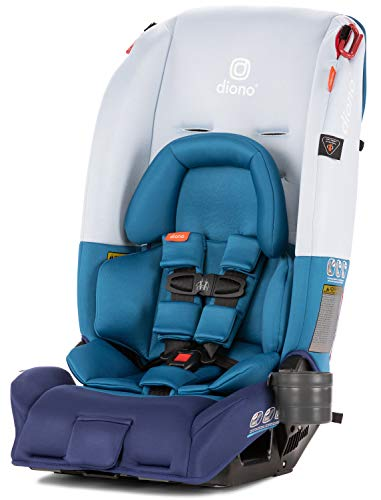 Diono 2019 Radian 3RX All-in-One Convertible Car Seat, Light Grey