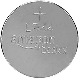 AmazonBasics LR44 Alkaline Button Coin Cell Batteries, Pack of 6