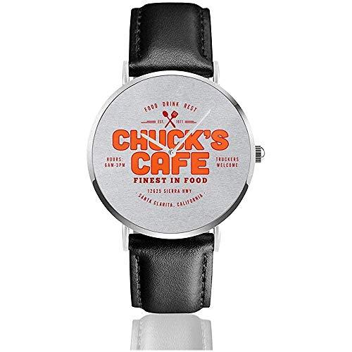 Orologio da uomo al quarzo casual da uomo Chucks Cafe Santa Clarita Duel