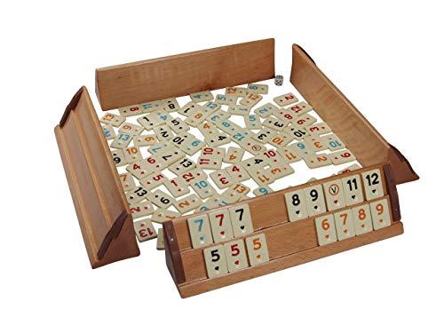 Okey Spiel KURZ - Rummikub para 4 jugadores