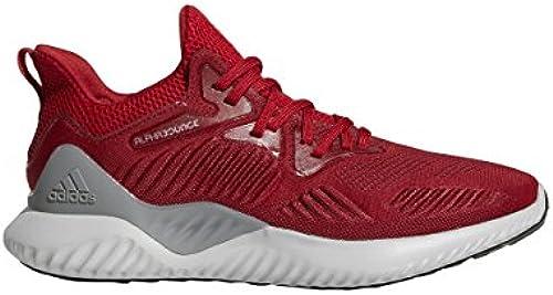 adidas Originals - Alphabounce Beyond Team Herren, Rot (Power rot Weiß schwarz), 42 EU